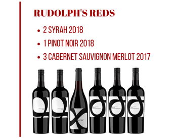 Six Rudolph's Reds